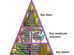 NZ diabetes food pyramid