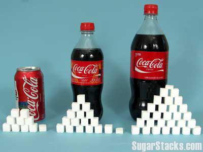 coke sugar cubes