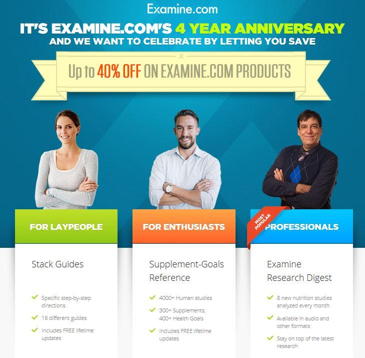 examine.com sale
