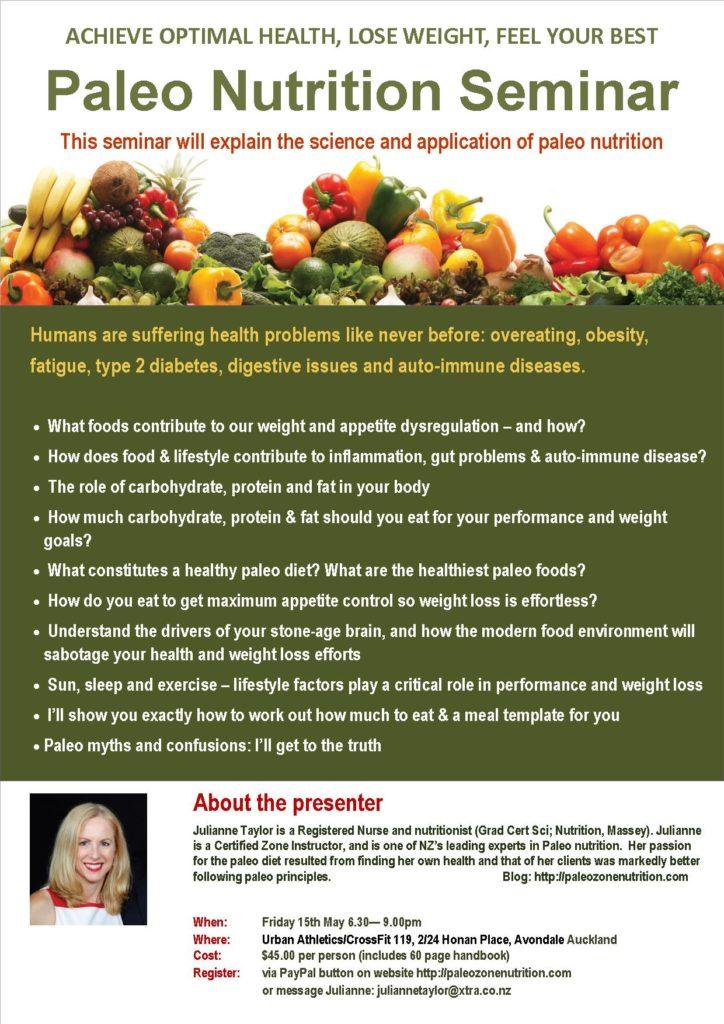 flyer seminar - Auckland